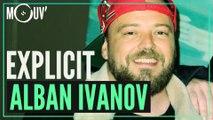 Alban Ivanov réagit aux punchlines de Vald, Rohff, Sniper...
