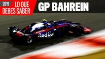 Claves del GP de Bahréin de F1 2019