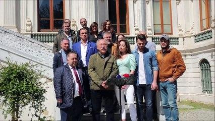 """""""Hababam Sınıfı Yeniden""""... EKİP, O MEŞHUR MERDİVENLERDE BULUŞTU!.."""
