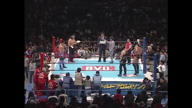Hashimoto & Hirata (C/V5) VS Anjo & Takayama '96.2.25 [IWGP Tag Championship Match / New Japan Pro-Wrestling VS U.W.F. International] (FIGHTING SPIRIT '96)