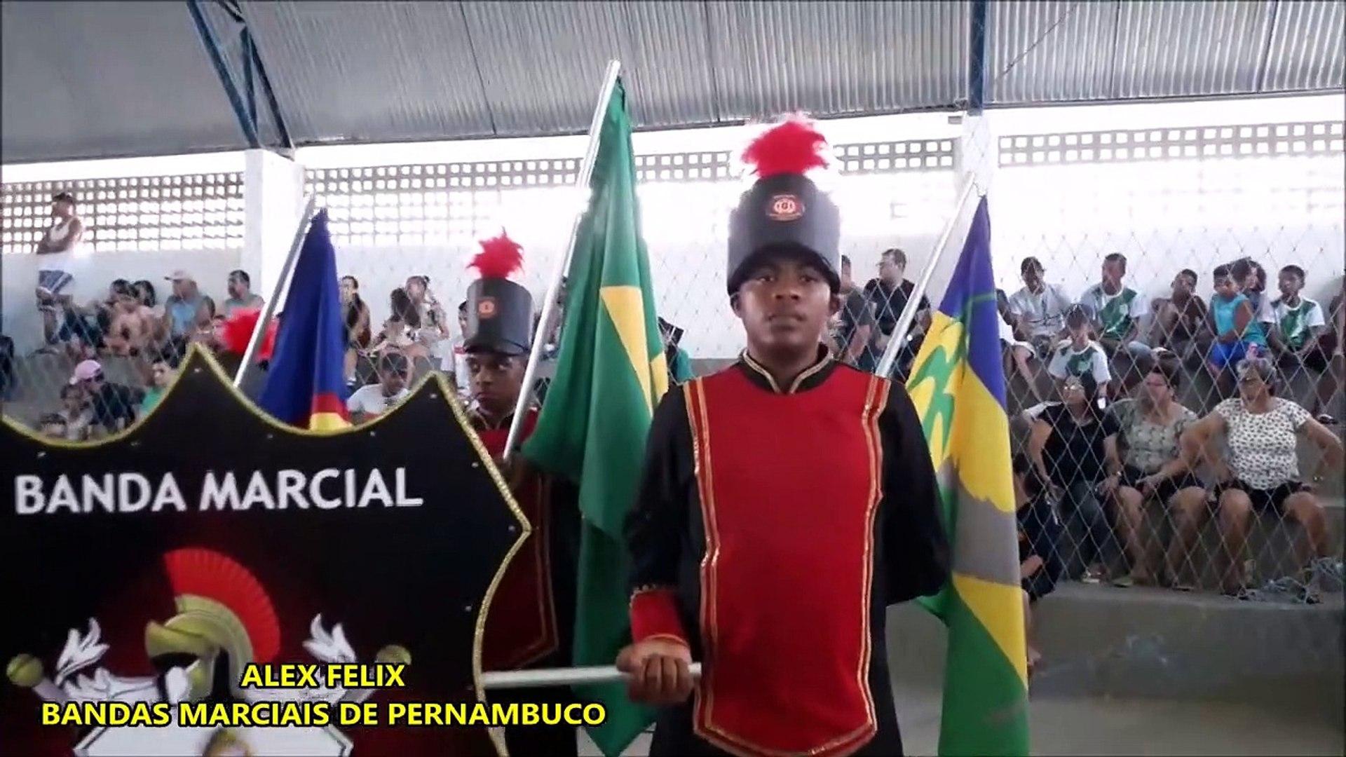 BANDA MARCIAL PADRE PEDRO SOUZA LEAO 2018 _ XI COPA NORDESTE NORTE DE BANDAS E FANFARRAS EM ALTINHO