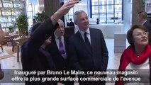 Les Galeries Lafayette à la conquête des Champs-Elysées