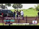 5,930 cuerpos sin identificar en todo México | Noticias con Yuriria Sierra