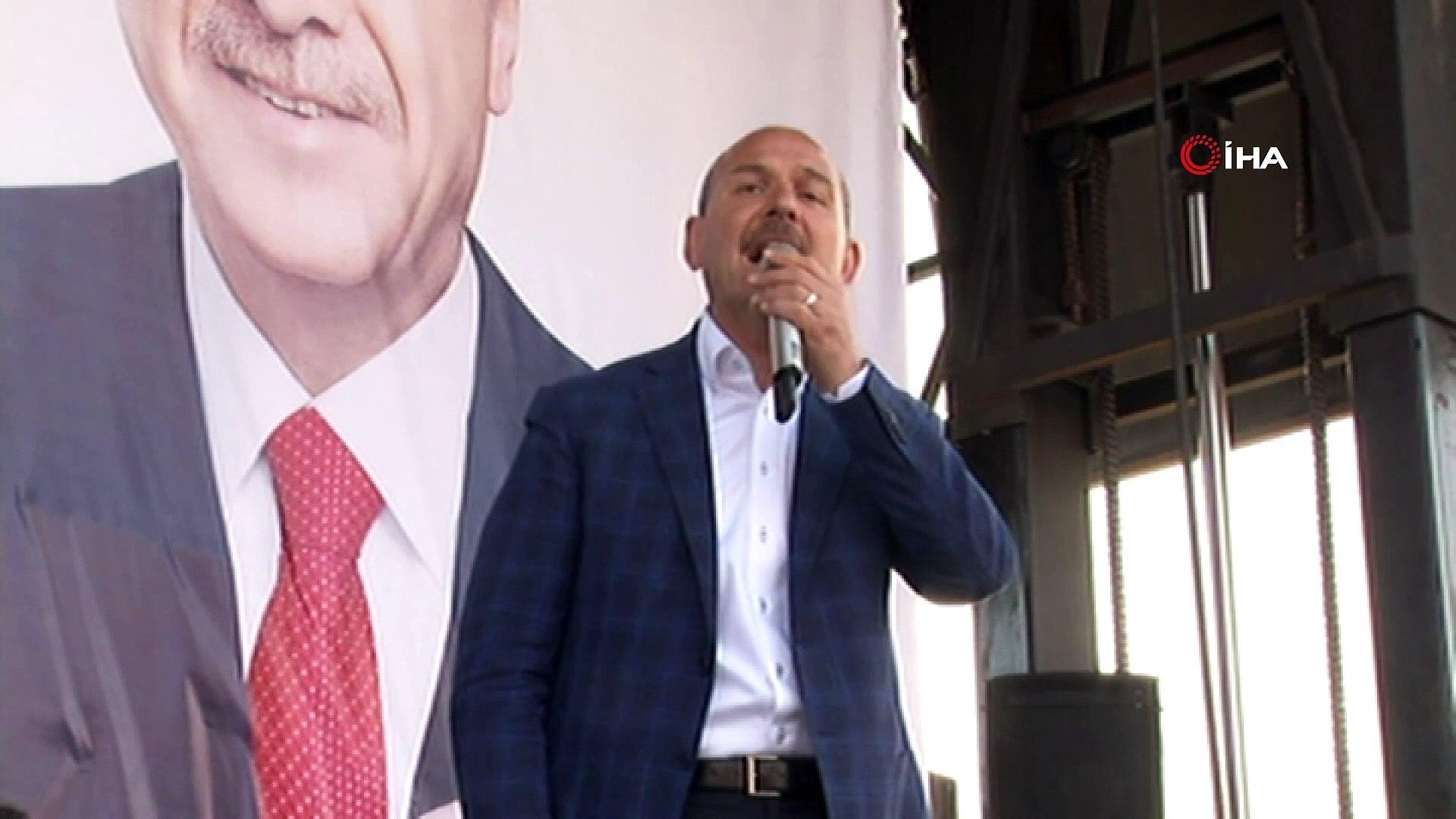 Bakan Soylu:' Doğru Yol Partisinden niye ayrıldın ? Tansu Çiller'e niye ihanet ettin'