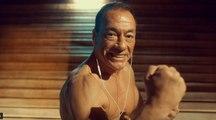 Jean-Claude Van Damme does his KICKBOXER DANCE for Casino 777