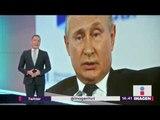 Vladimir Putin culpa a globalización de matanza en Crimea | Noticias con Yuriria