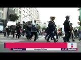 Marcha de Campesinos en Reforma bloquean el metro y metrobús   Noticias con Yuriria