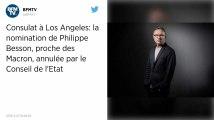 Le Conseil d'État annule le décret permettant la nomination de Philippe Besson consul à Los Angeles