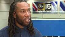 Larry Fitzgerald offers his thoughts on Josh Rosen's rookie season - ABC15 Sports