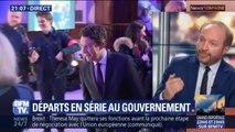 Julien Bargeton, pré-candidat LaRem à la mairie de Paris, annonce qu'il va soutenir la candidature de Benjamin Griveaux