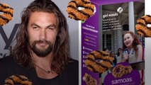 Jason Momoa Responded to the Genius Girl Scout Who Rebranded Samoas As 'Momoas'