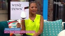 Why Christina Milian Likes to 'Wine' Down for a Risque Scene