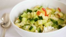Chopped Salad with Cottage Cheese