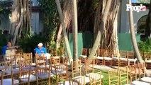 El florista de la boda de Ana Navarro habla de la decoración de la ceremonia