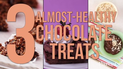 3 Almost-Healthy Chocolate Treats