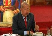 """Hugo Chávez: """"Esperamos que el nuevo gobierno de España no se meta en las cosas internas de Venezuela"""""""