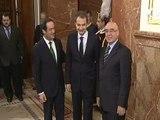 Zapatero confía en la Constitución para afrontar retos