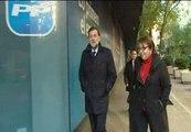 Primeras imágenes de Rajoy tras el triunfo electoral