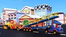 Camión de bomberos videos para niños - Super Camión REBOTES para GUARDAR el camión de bomberos - Camiones Super !