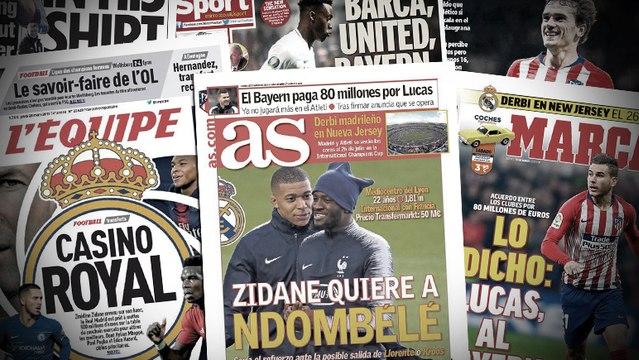 Le budget mercato de Zinedine Zidane passe à 500 M€, trois cracks anglais dans le viseur de Manchester United