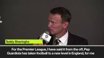 (Subtitled) 'Utd to win EPL ... I mean City' Sheringham slip of the tongue