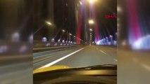Yavuz Sultan Selim Köprüsü'nden 344 Kilometre Hızla Geçti