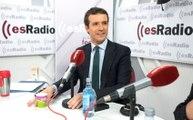 Federico Jiménez Losantos entrevista a Pablo Casado