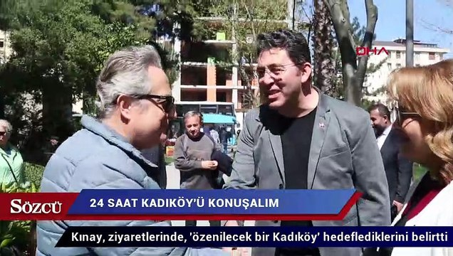 Emre Kınay'dan 24 saatlik 'Kadıköy' maratonu