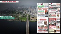 Le titrologue du jeudi 28 mars 2019: Gbagbo refuse de décrocher les appels de Simone