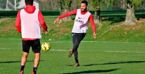 L'avant-match de Nancy-Valenciennes