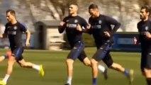 Mauro Icardi fait son retour à l'entraînement avec l'Inter