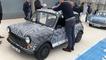 En Mini électrique sur le Bugatti