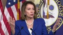 "Nancy Pelosi blasts GOP as ""scaredy cats"" for calling for Adam Schiff's resignation"