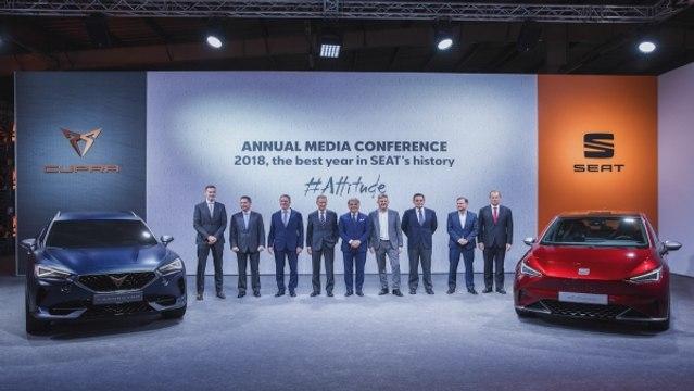 Seat Jahres Bilanz Pressekonferenz 2018