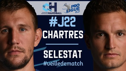 #J22 : CHARTRES - SELESTAT #veilledematch