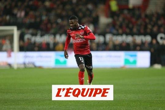 Marcus Thuram, l'arme fatale de Guingamp - Foot - C.Ligue