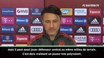 Bayern - Kovac loue la polyvalence de Lucas Hernandez
