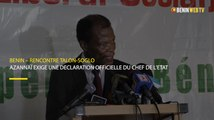 Bénin – Rencontre Talon-Soglo: Azannaï exige une déclaration officielle du Chef de l'Etat