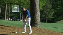 WATCH: Trees prove to be no problem for Spieth, who goes around another to find green