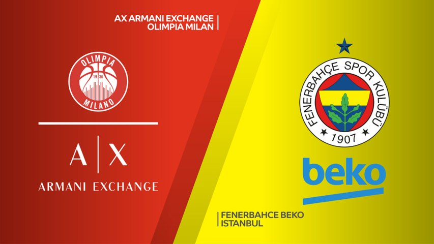 AX Armani Exchange Olimpia Milan - Fenerbahce Beko Istanbul Highlights | Turkish Airlines EuroLeague RS Round 29