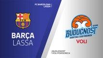 FC Barcelona Lassa - Buducnost VOLI Podgorica Highlights | Turkish Airlines EuroLeague RS Round 29