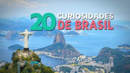 20 Curiosidades de Brasil  | El país del fútbol y el carnaval