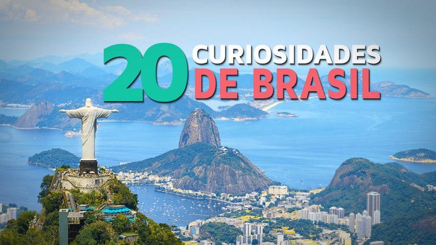 20 Curiosidades de Brasil    El país del fútbol y el carnaval
