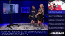 John Collins On Playing With Vince Carter In ATL