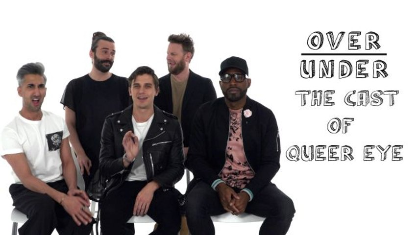 The Cast of Queer Eye Rate 30 Rock, The Strokes, and Kellyanne Conway