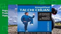 Popular Simplified Tai Chi Chuan: 24 Postures with Applications & Standard 48 Postures (Revised) -