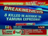 8 Dead, 30 Injured In Accident On Yamuna Expressway After Bus Ramps Into A Truck In Greater Noida