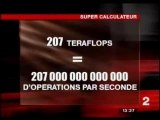 Super calculateur du CNRS
