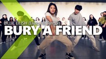 Billie Eilish - bury a friend (Elijah Hill Remix) / WENDY Choreography.
