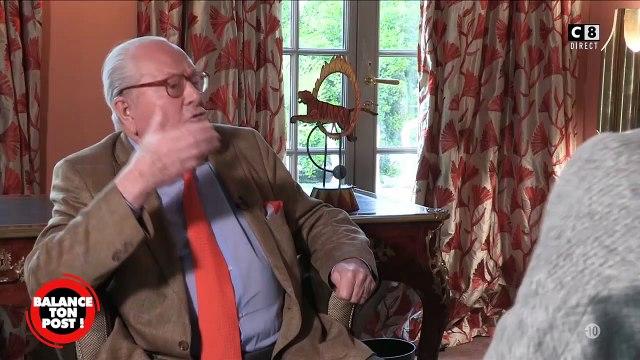 """Jean-Marie Le Pen affirme face à Cyril Hanouna que """"chez les gilets jaunes, aucun casseur ne vient des mouvements d'extrême droite !"""""""